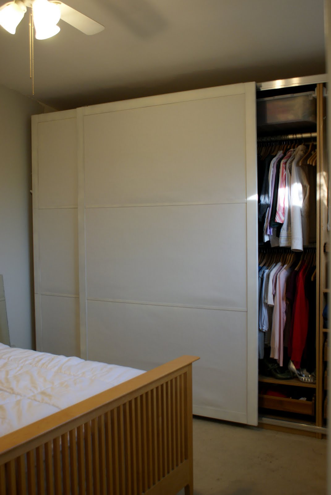 Sliding doors ikea all about home ideas best sliding doors ideas - Fixing The Pax Sliding Door