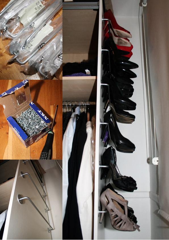 bygel stiletto shoe rack