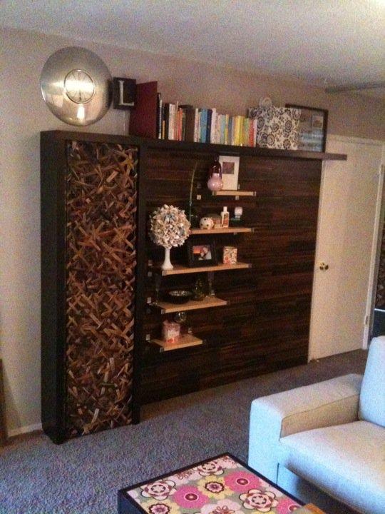 Wall Heater Cover Bookshelves
