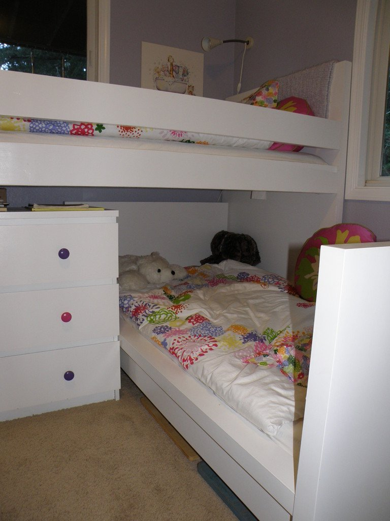 Amazing Malm Toddler Bed under Malm inspired Bunk