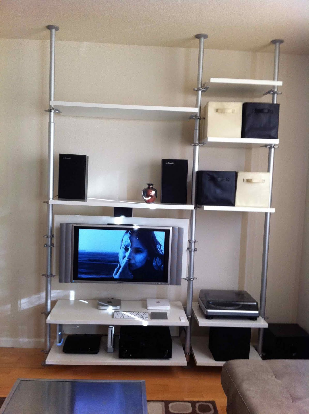 Bathroom wall cabinet - Stolmen Entertainment Unit For A Flat Panel Tv Ikea Hackers Ikea