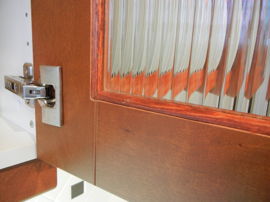 Custom Reed Glass In Adel Cabinets Ikea Hackers