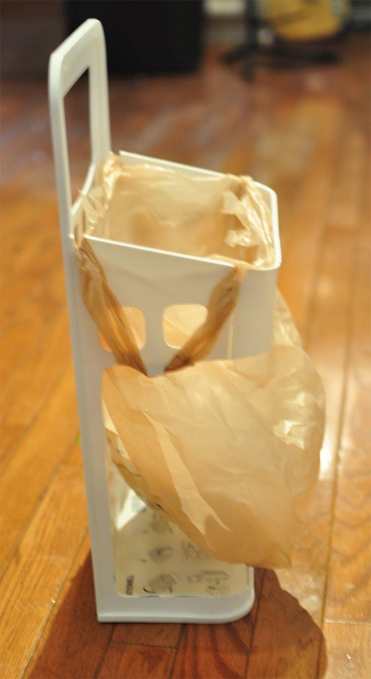 Plastic Bag Trash Receptacle Ikea Hackers Ikea Hackers