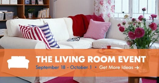 Updates The Ikea Living Room Event
